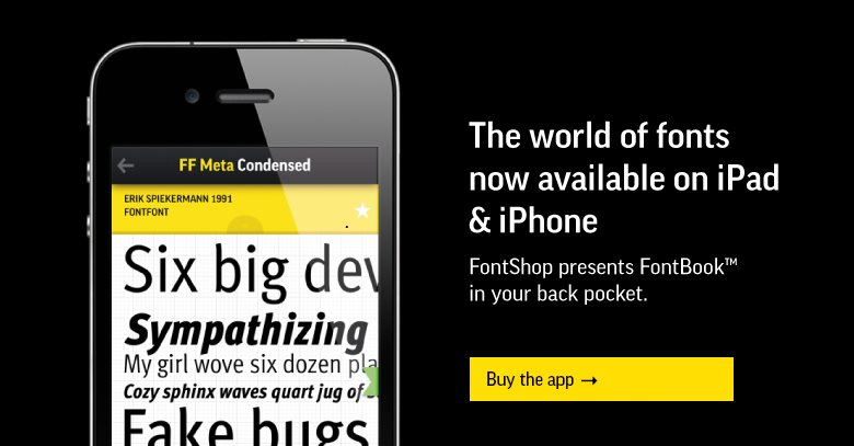 FontBook for iPhone